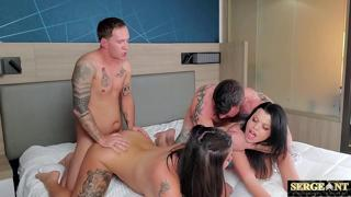 Brother wife swap with creampie