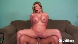 Sara Jay Puts Her Legs Behind Her Head & Stuffs A Cock Inside Her Pussy