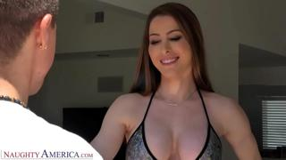 Naughty America Kassandra Kelly (Brianna Rose) Fucks the landscaper guy