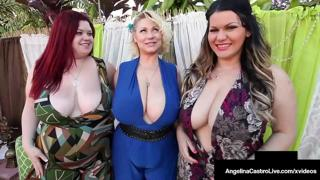 Thick Chicks Angelina Castro Trinity Guess & Sam 38G Eat That Big Cock